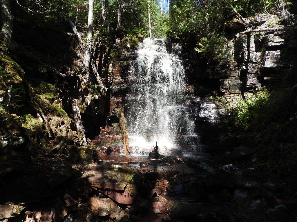 Kama Falls - Lake Superior Waterfalls