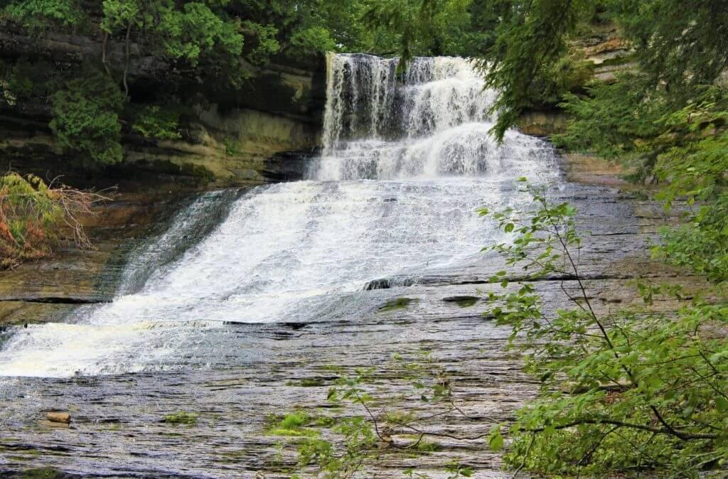 Laughing Whitefish Falls - Lake Superior Waterfalls
