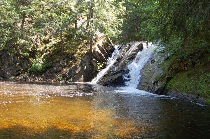 Slate River Falls - Lake Superior Waterfalls