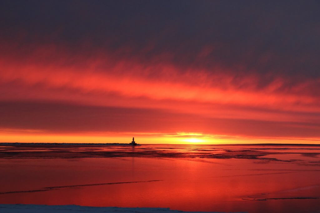 Presque Isle Harbor Breakwater Lighthouse