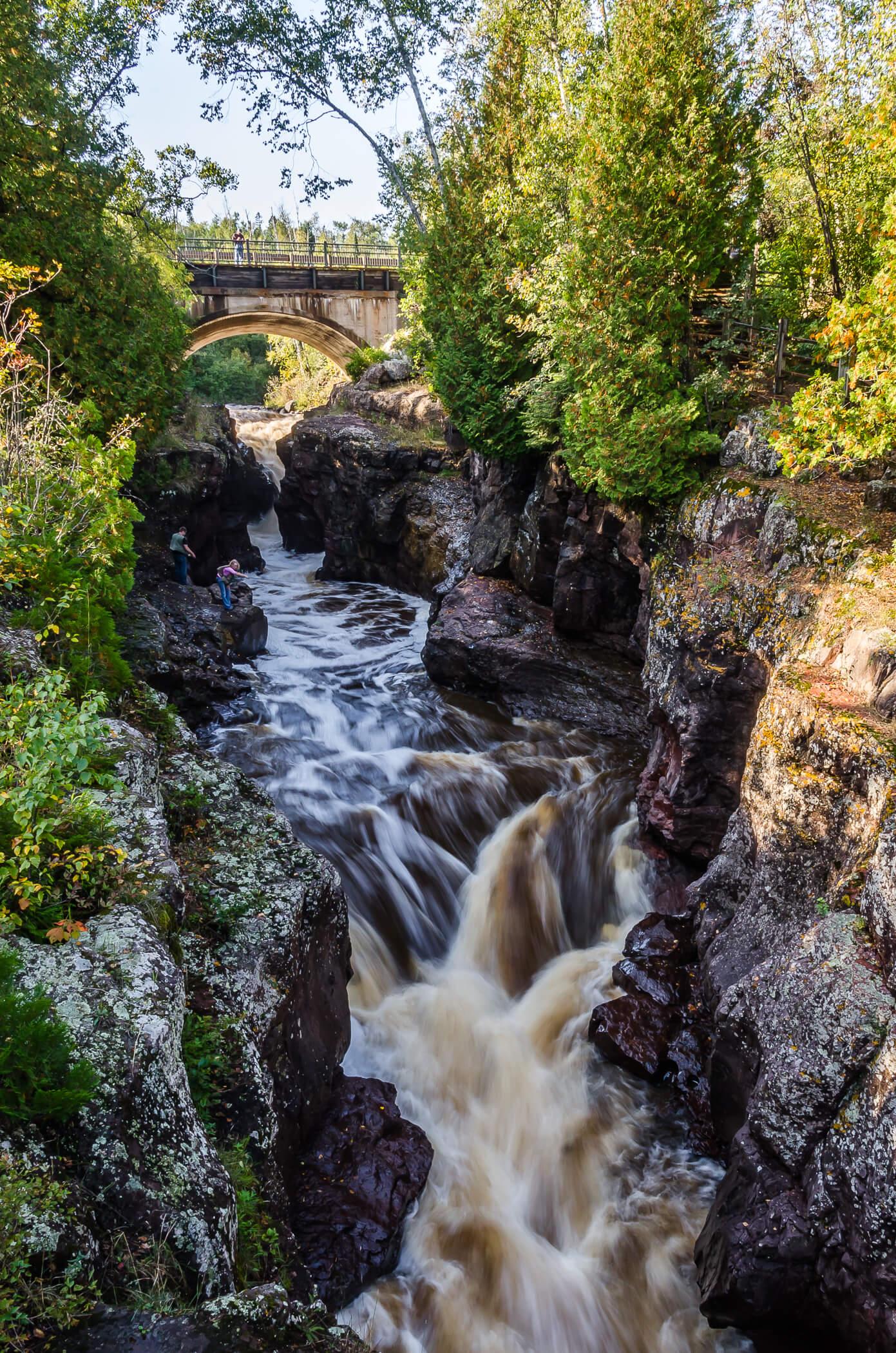 Hidden Falls - Lake Superior Waterfalls