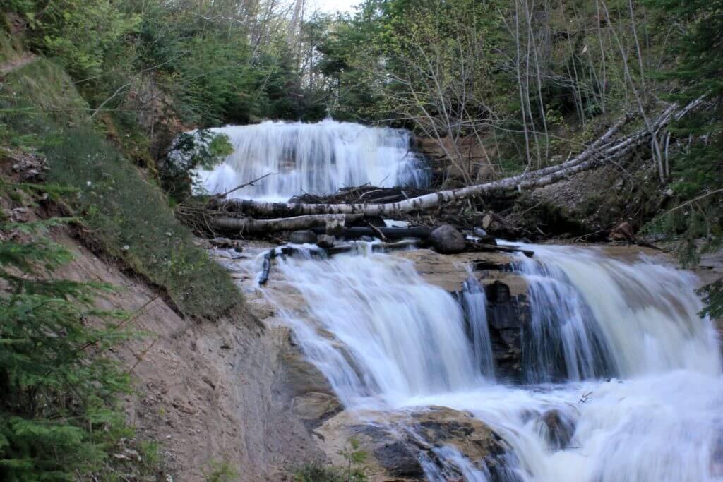 Sable Falls - Lake Superior Waterfalls