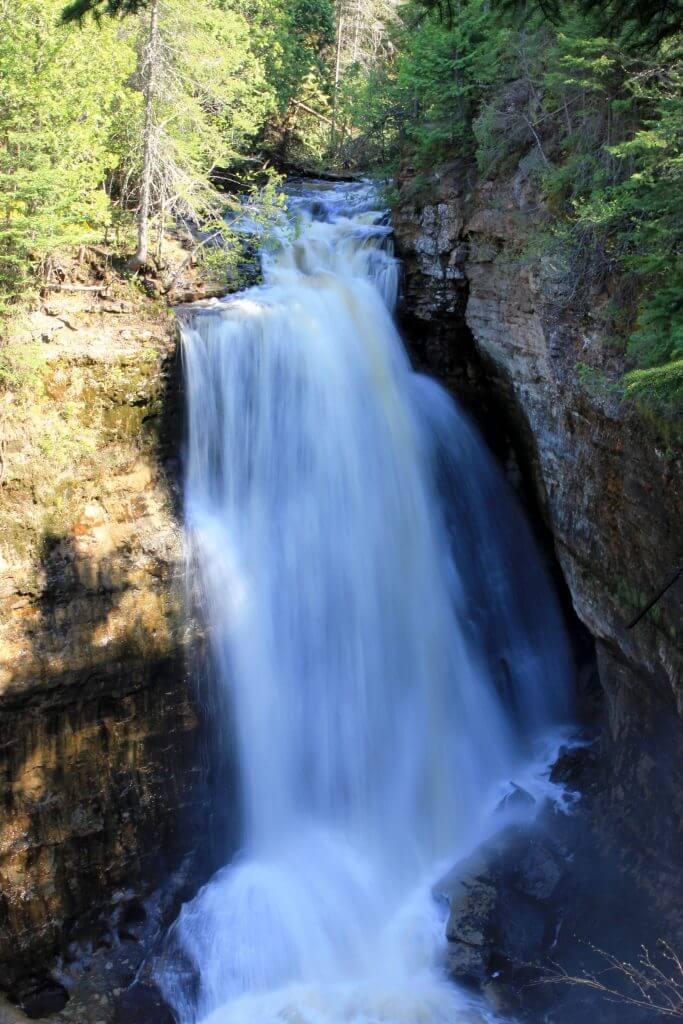 Miners Falls - Lake Superior Waterfalls