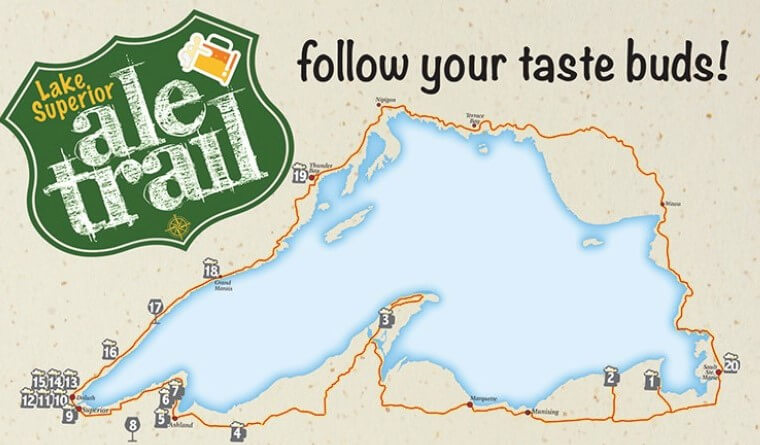 2021 Lake Superior Circle Tour Ale Trail