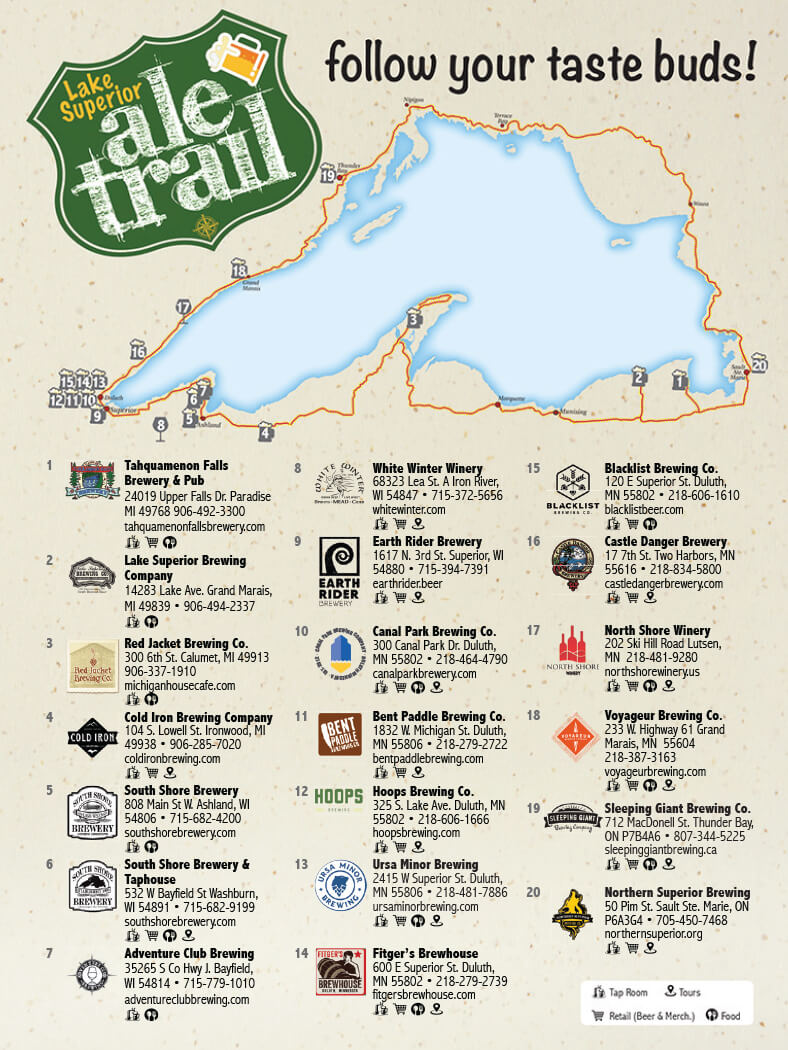 2021 Lake Superior Ale Trail