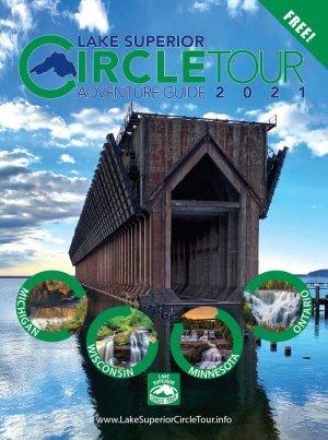 2021 Lake Superior Circle Tour Adventure Guide Cover