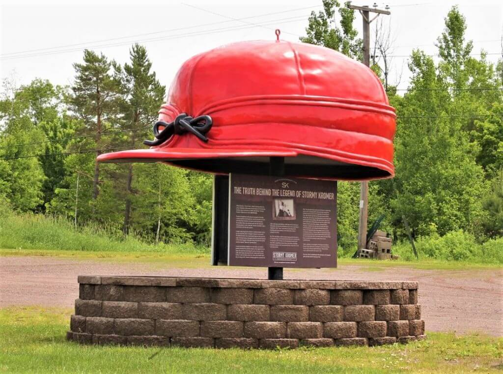 Lake Superior Roadside Attractions - Kromer Hat