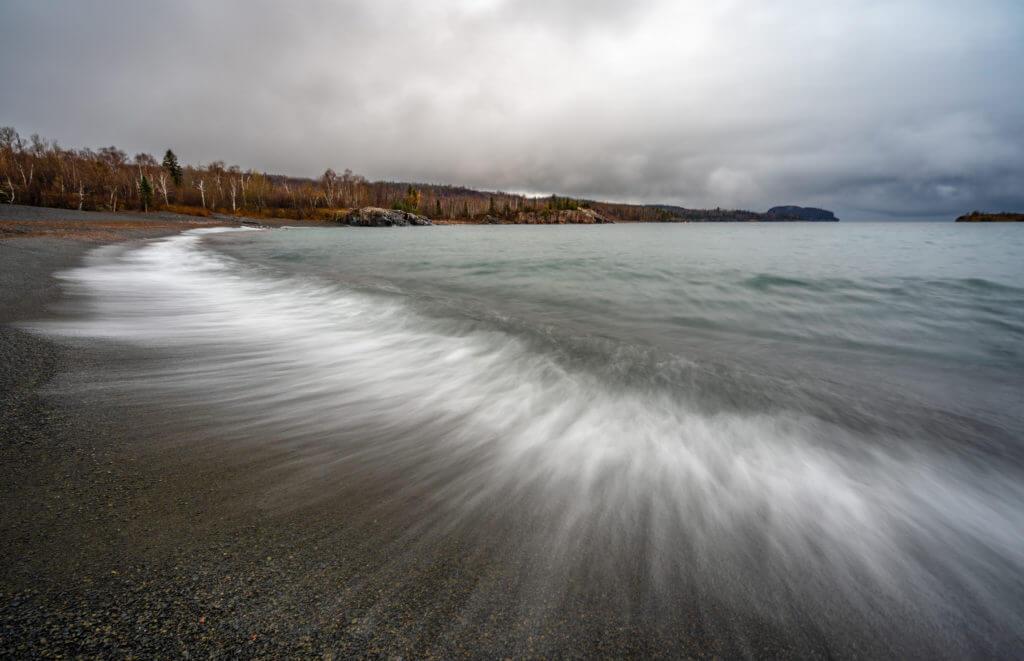 Lake Superior Natural Wonders - Black Beach