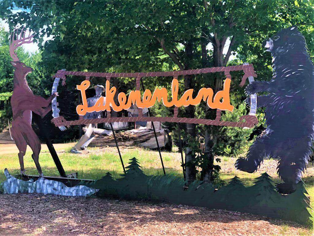 Lake Superior Roadside Attractions - Lakenland Sculpture Park