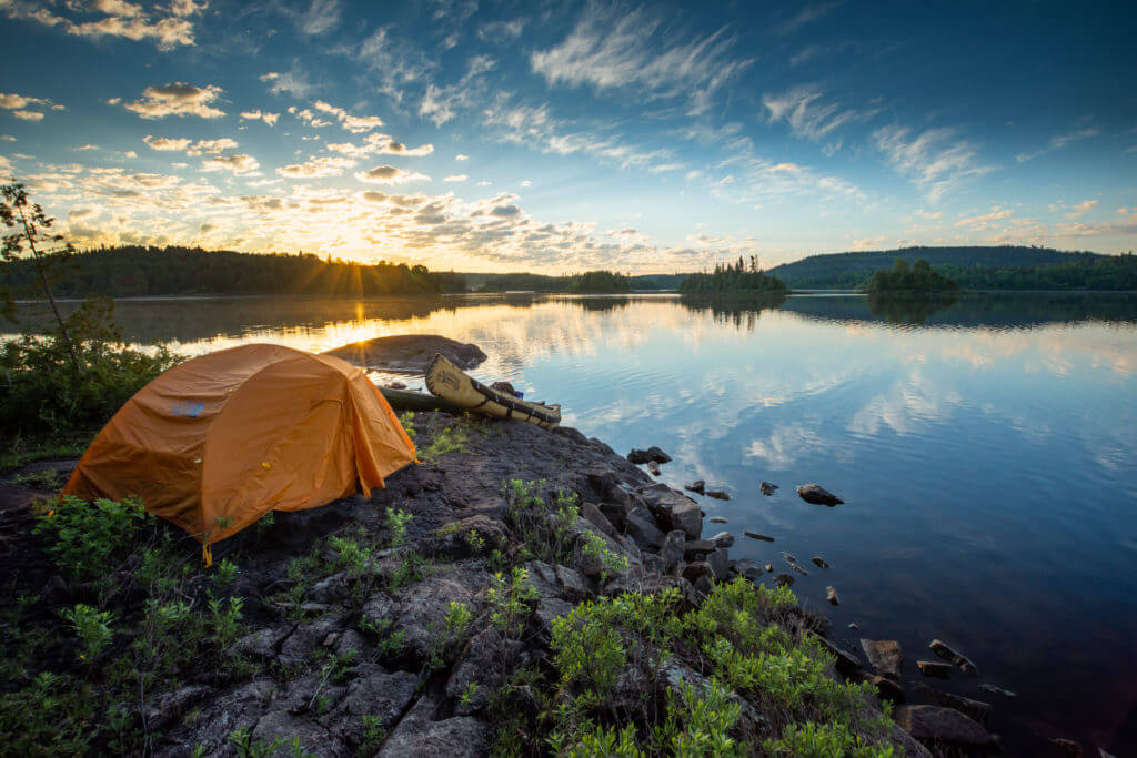 North America's Best Road Trip - Camping