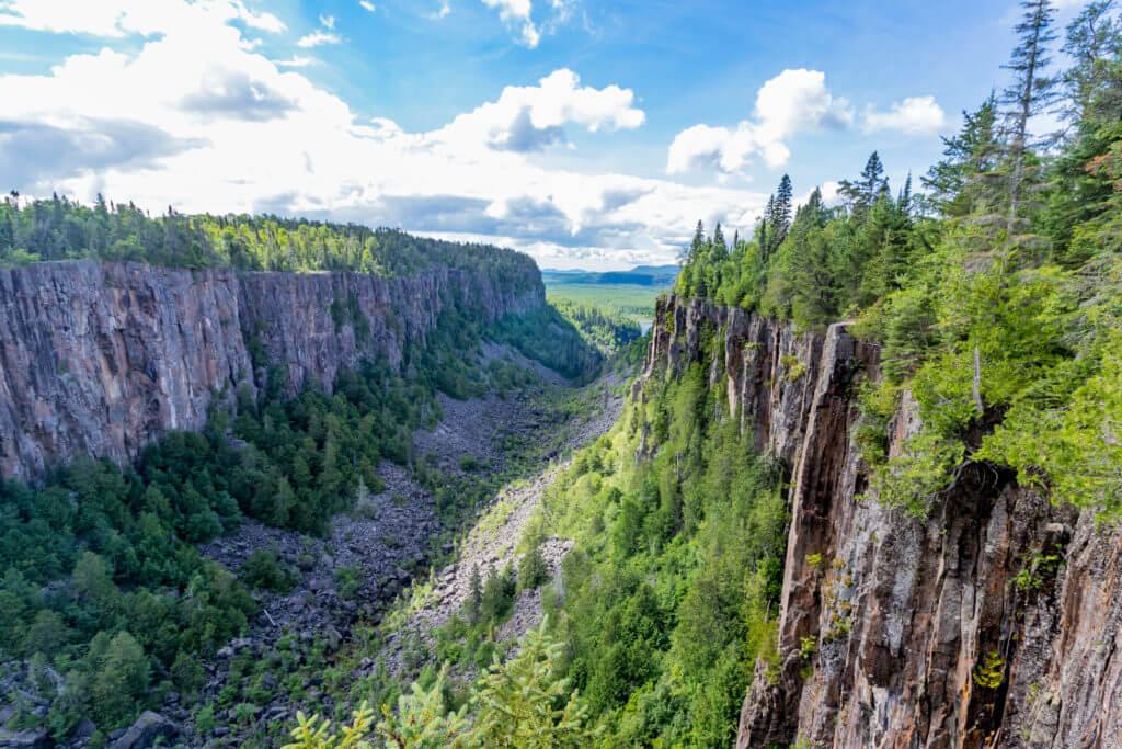 Lake Superior Natural Wonders - Ouimet Canyon