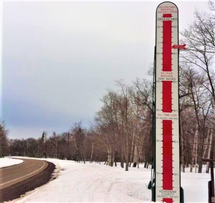 Lake Superior Roadside Attractions - Snow Stick