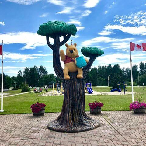 Lake Superior Roadside Attractions - Winnie the Pooh
