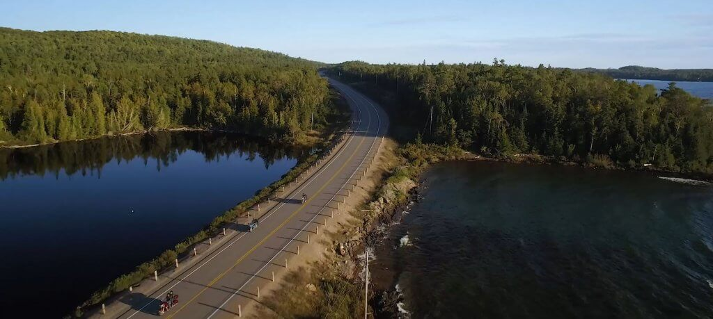 Riding the Lake Superior Circle Tour by Motorcycle