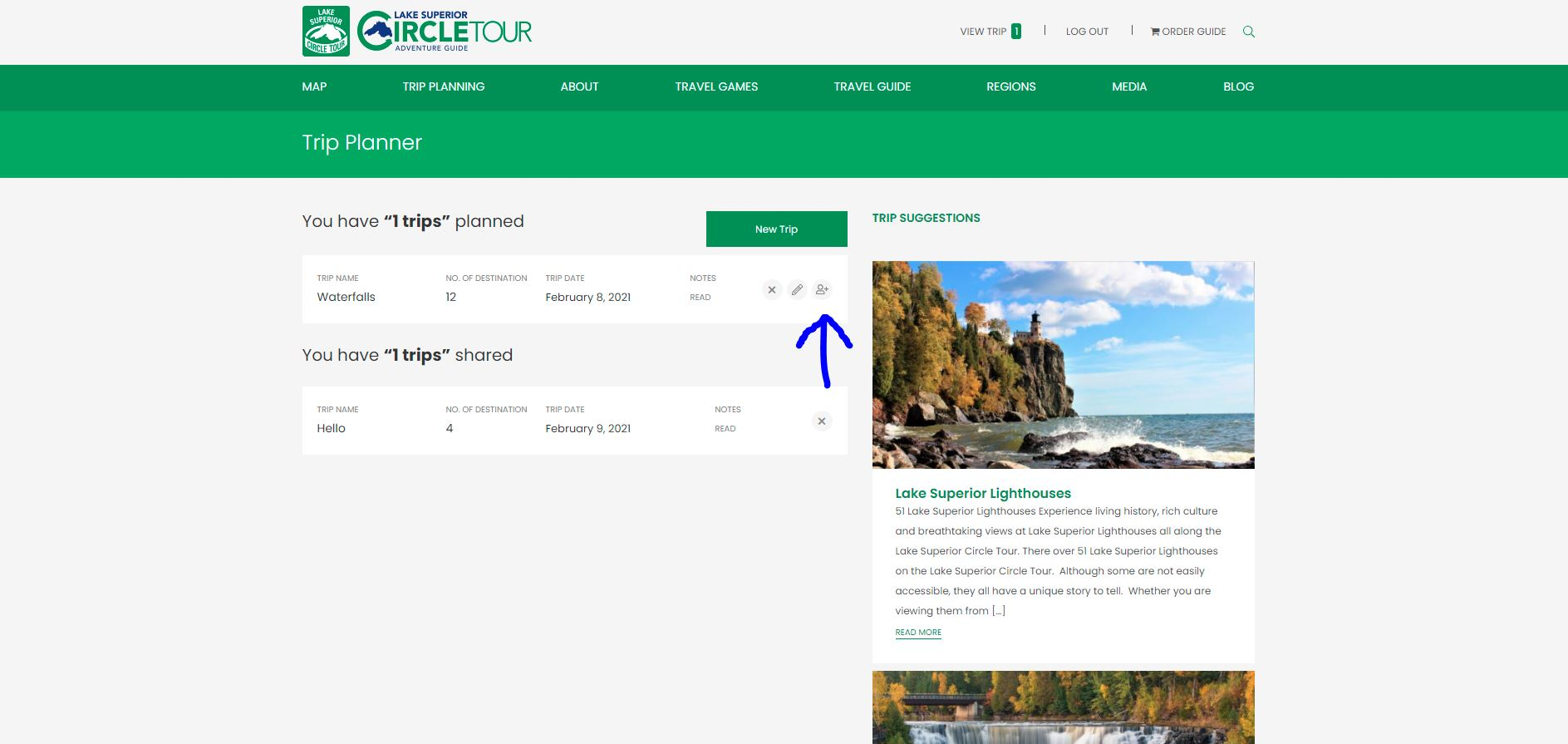 Lake Superior Circle Tour Trip Planner - Share your Trip